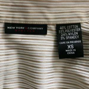 New York & Company Tops - NY & Company Button Down Collar Shirt